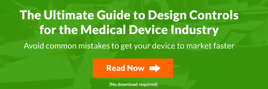 Guide to Design Controls for the Medical Device Industry