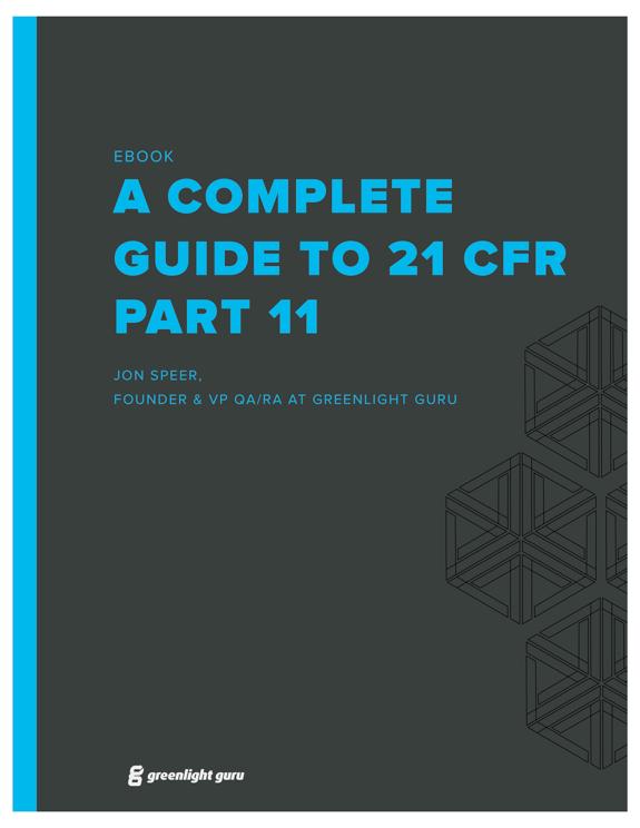 21 CFR Part 11 eBook