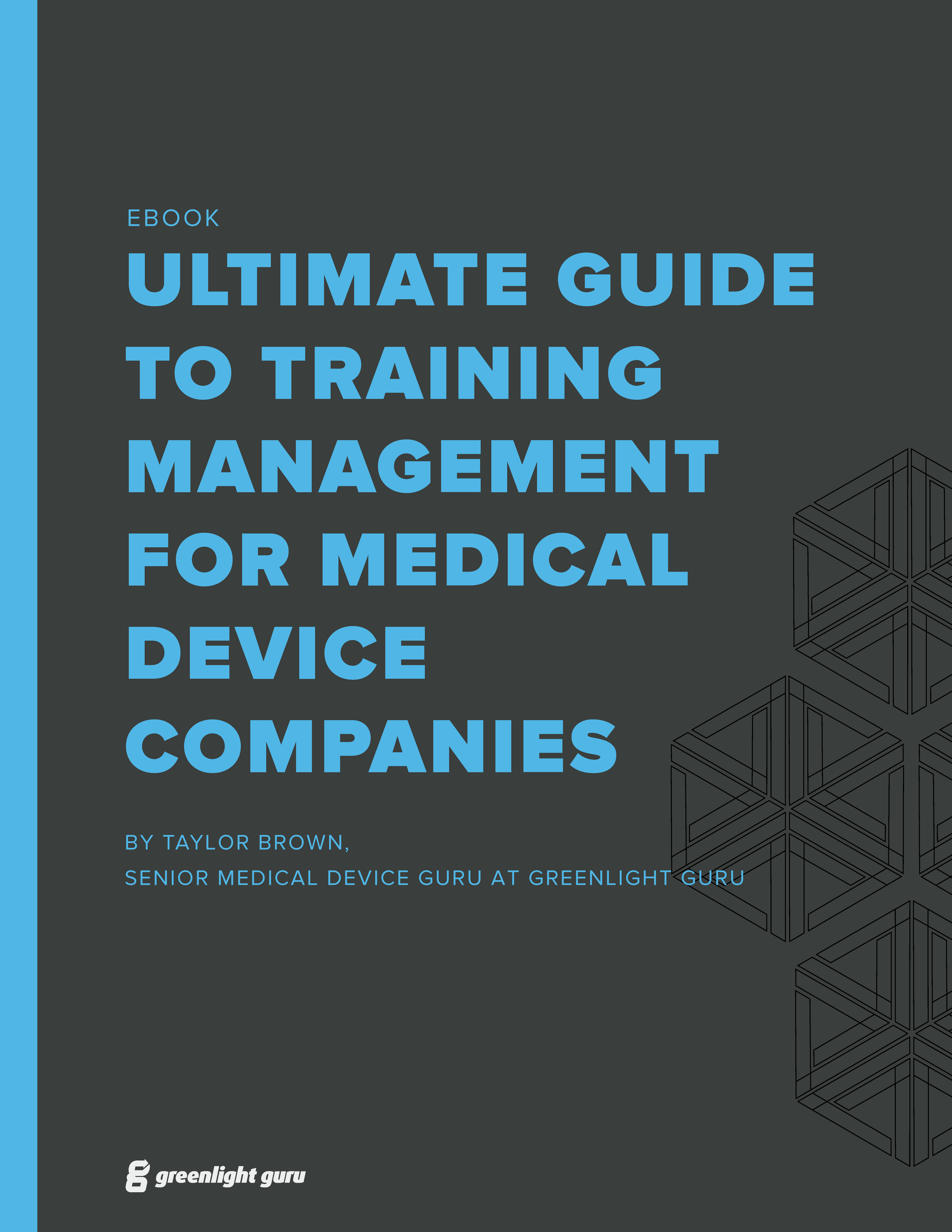 (cover) Ultimate Guide to Training Management for Medical Device Companies