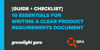 10 Essentials for Writing a Clear Product Requirements Document [Guide+Checklist] - Featured Image