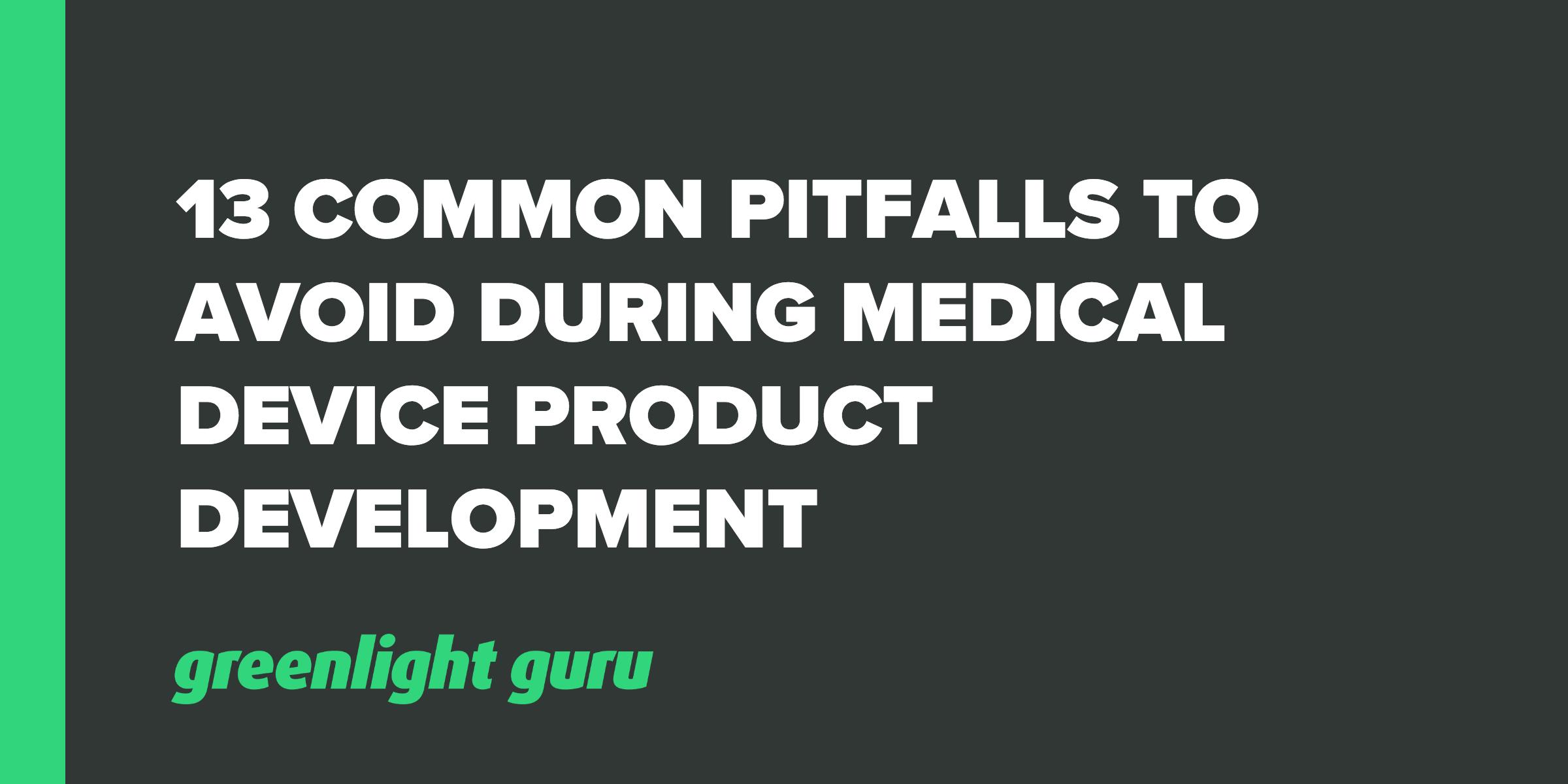 13 pitfalls
