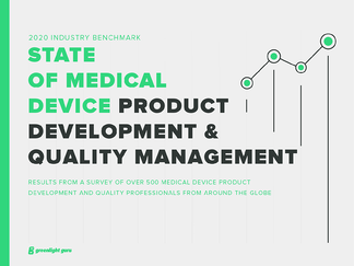 State of Medical Device Product Development and Quality Management Report 2020 - Featured Image