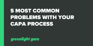 5 Most Common Problems with your CAPA Process - Featured Image