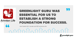 Case Study: How Greenlight Guru is Laying the Foundation for Success at Amnion Life - Featured Image