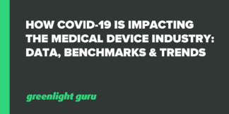 How COVID-19 is Impacting the Medical Device Industry: Data, Benchmarks & Trends - Featured Image