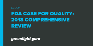 FDA Case for Quality: 2018 Comprehensive Review - Featured Image