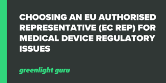 Choosing an EU Authorised Representative (EC REP) for Medical Device Regulatory Issues - Featured Image