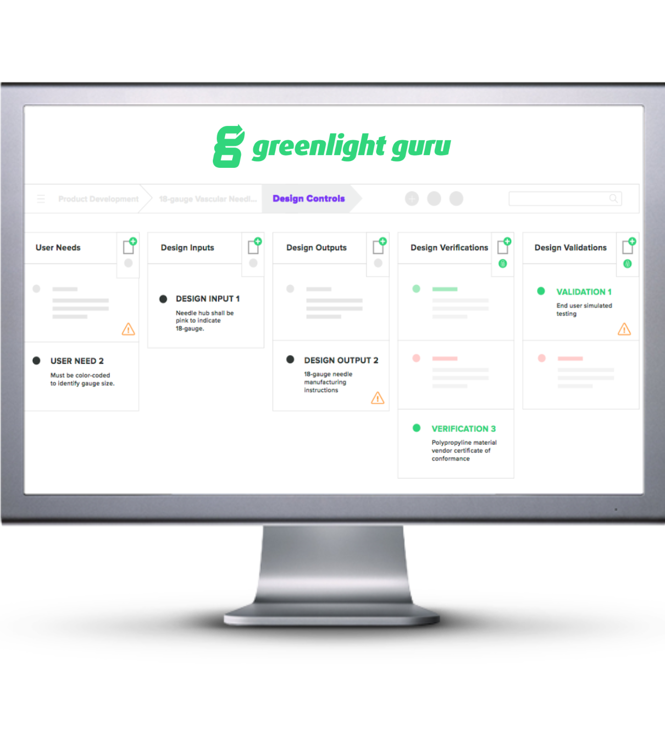 Greenlight Guru best QMS software solution