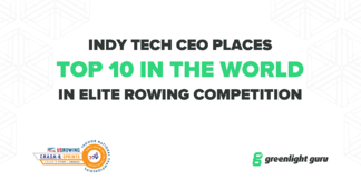 CEO of High-Growth Software Company Places Top 10 in the World in Elite Rowing Competition - Featured Image