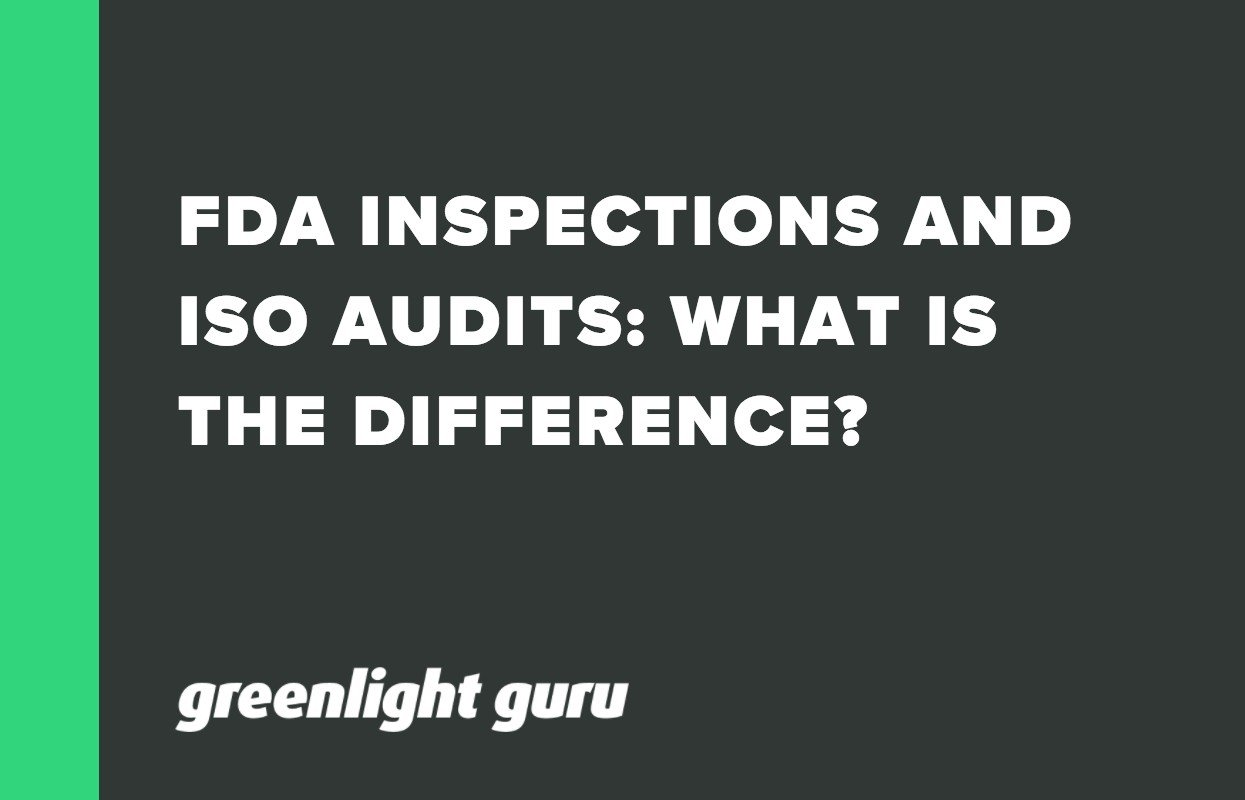 FDA INSPECTIONS AND ISO AUDITS_ WHAT IS THE DIFFERENCE_