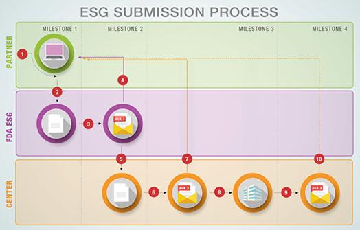 FDA-ESG-Submission-Process-Diagram