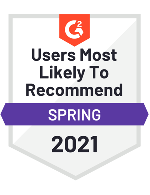 G2 Spring 2021 - Recommend