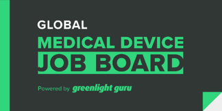 Greenlight Guru Launches Global Medical Device Job Board - Featured Image