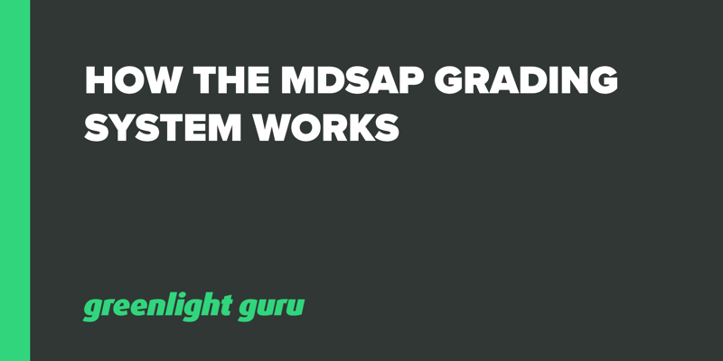 How the MDSAP Grading System Works