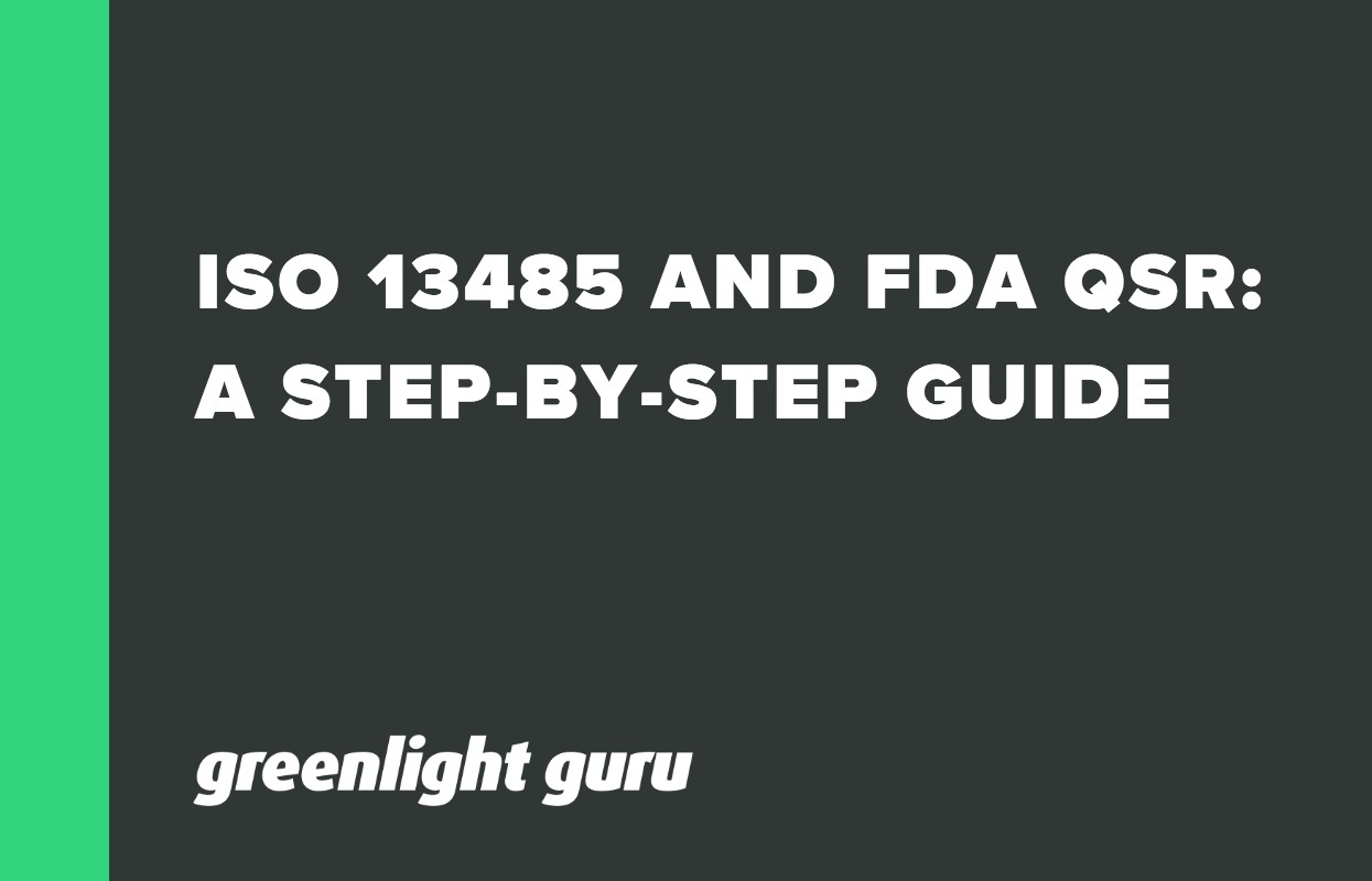 ISO 13485 AND FDA QSR_ A STEP-BY-STEP GUIDE TO COMPLYING WITH MEDICAL DEVICE QMS REQUIREMENTS-1