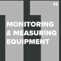 ISO 13485 Monitoring and Measuring Equipment