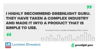 Lucerno Dynamics Has Simplified the ISO 13485:2016 Certification Process With Greenlight Guru - Featured Image