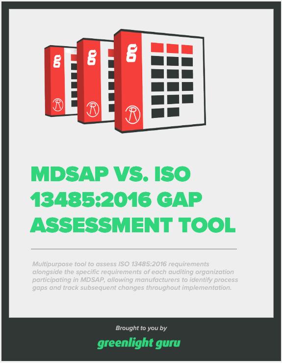 MDSAP vs ISO 13485 Gap Assessment Tool - slide-in CTA
