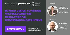 MDrues webinar - design controls 101
