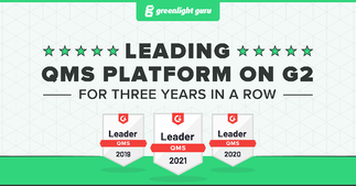 True Quality: Greenlight Guru consistently ranked the #1 QMS by users for three years in a row - Featured Image