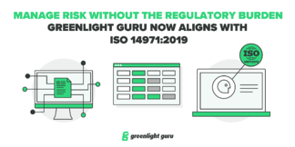 Greenlight Guru Updates Risk Management Capabilities to Align with ISO 14971:2019, Further Enhances Change Management Capabilities - Featured Image