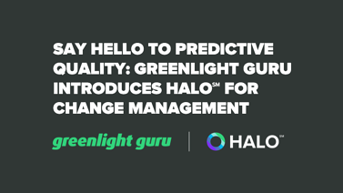 Say Hello to Predictive Quality: Introducing Intelligent Document Management powered by Halo℠