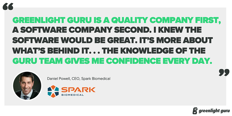 Spark Biomedical Case Study - Featured Graphic