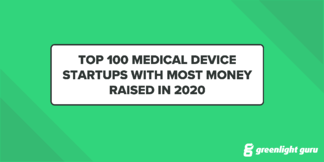 Top 100 Medical Device Startups with Most Money Raised in 2020 (Free Chart) - Featured Image