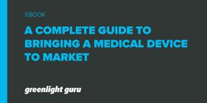 UG bringing a medical device to market