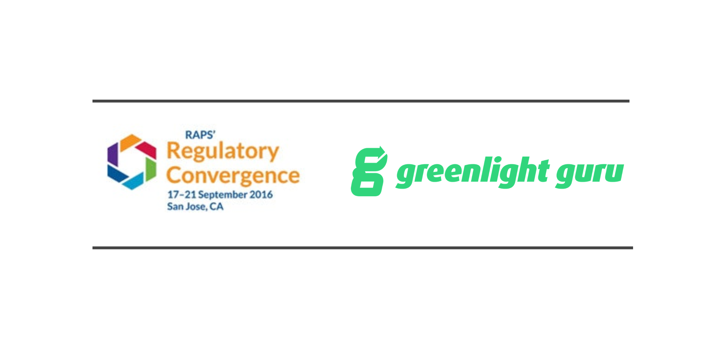 greenlight guru Invited to Host Two Workshop Sessions at RAPS Convergence San Jose 2016 - Featured Image
