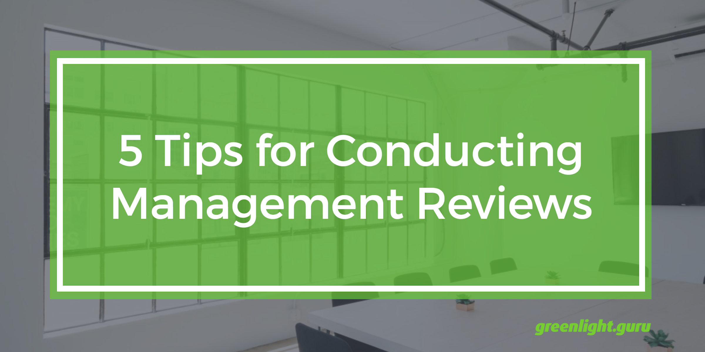 5 Tips for Conducting Management Reviews - Featured Image