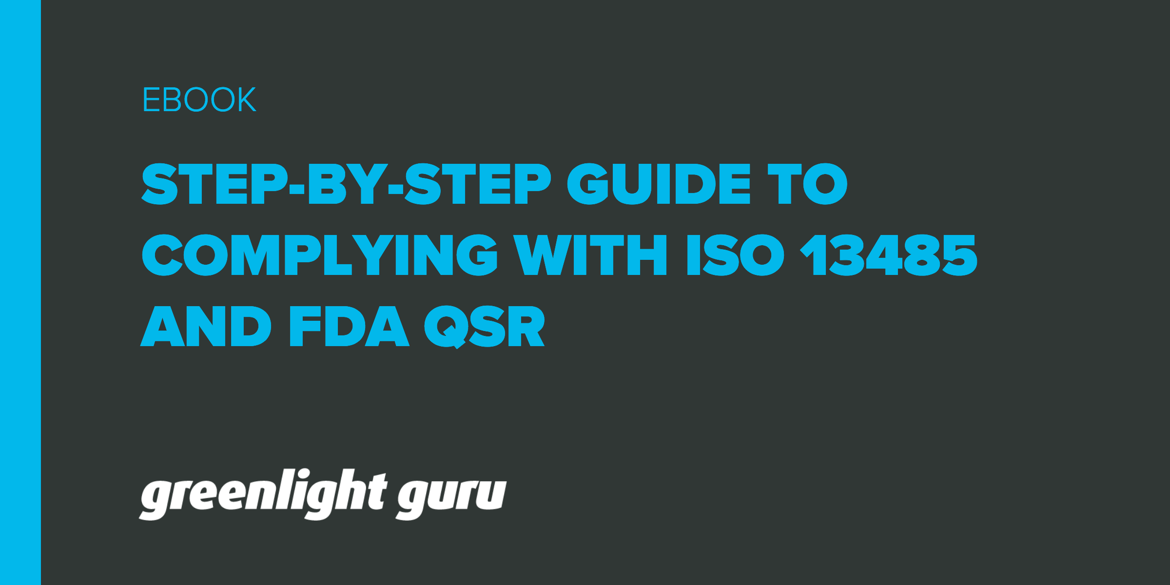 ISO 13485 and FDA QSR: A Step-by-Step Guide to Complying with Medical Device QMSRequirements - Featured Image