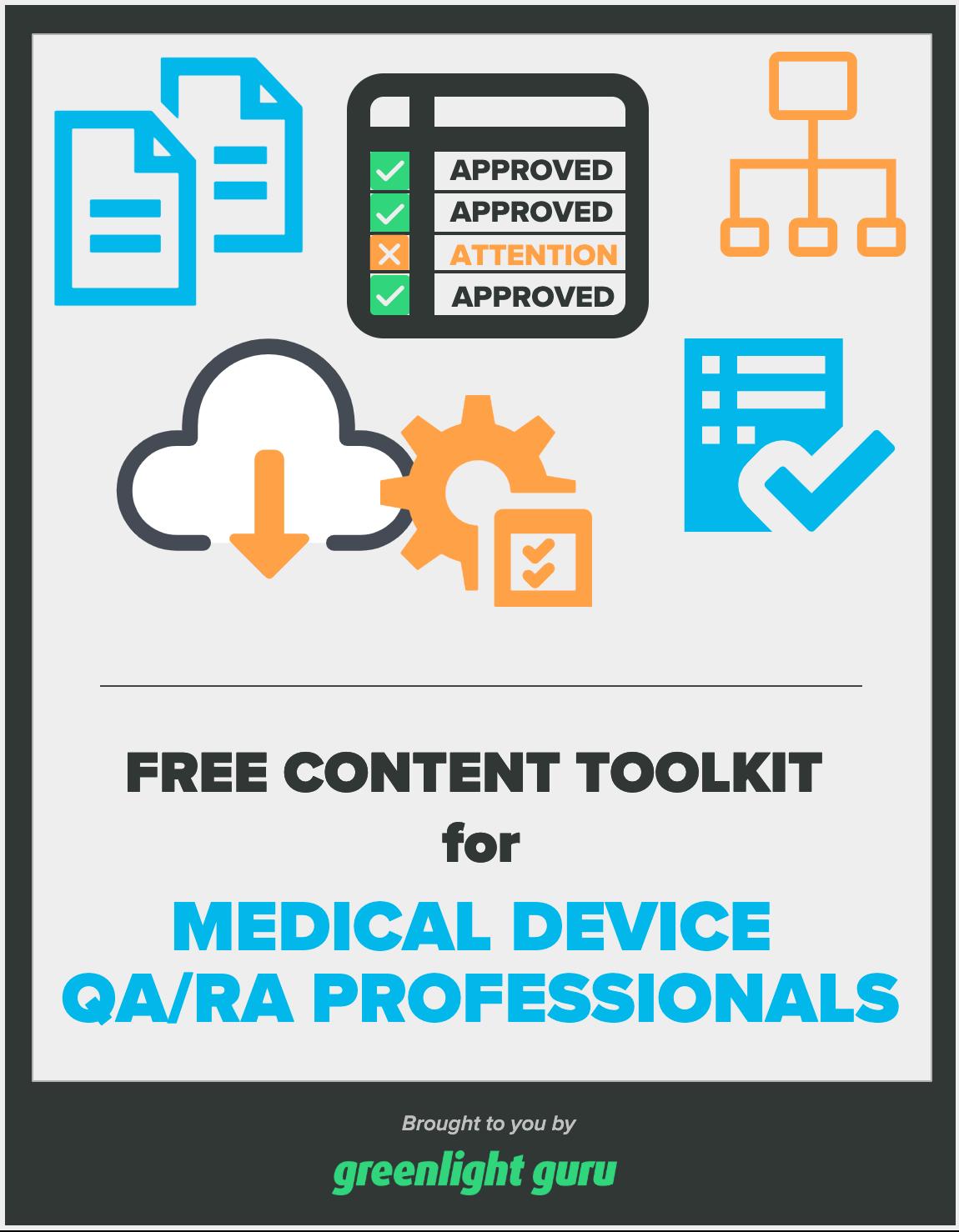 content toolkit for QA-RA professionals