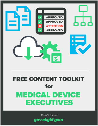 content toolkit cover for medical device executives