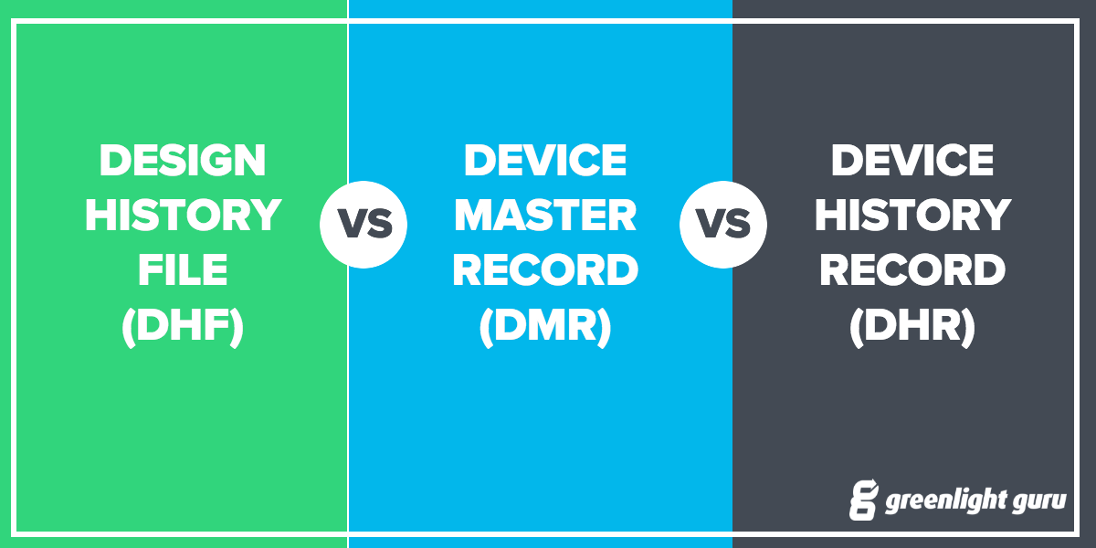Design History File Dhf Vs Device Master Record Dmr Vs Device