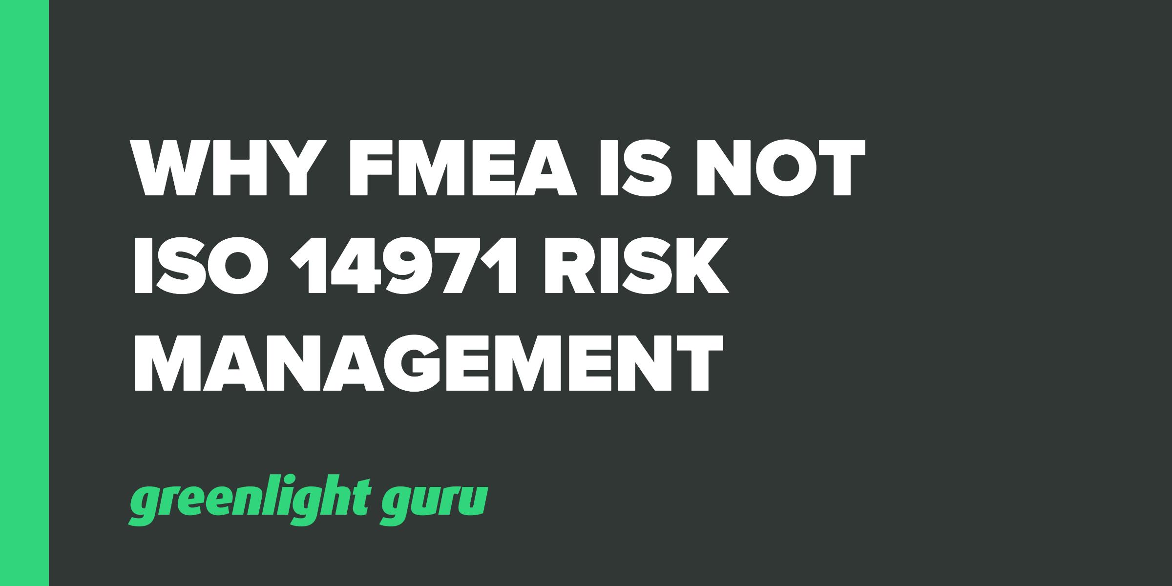 fmea is not