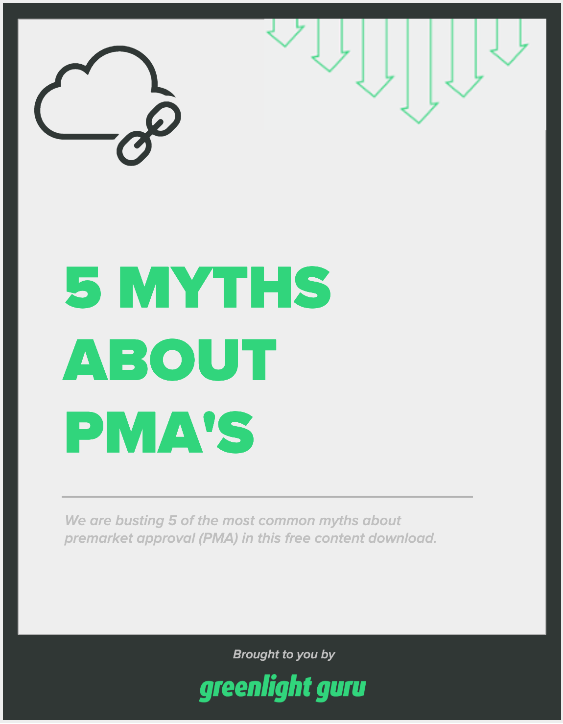 free download cover - 5 myths PMAs