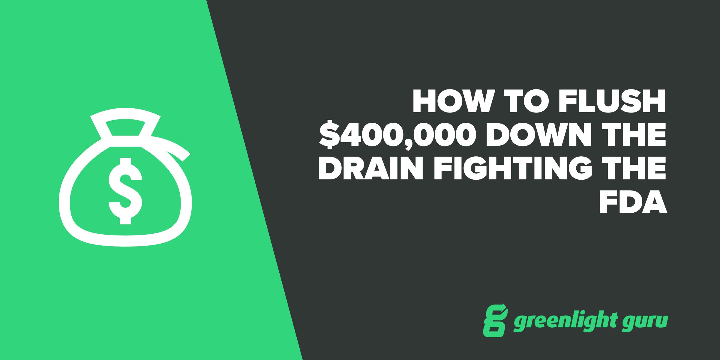 how-to-flush-400g-fighting-fda