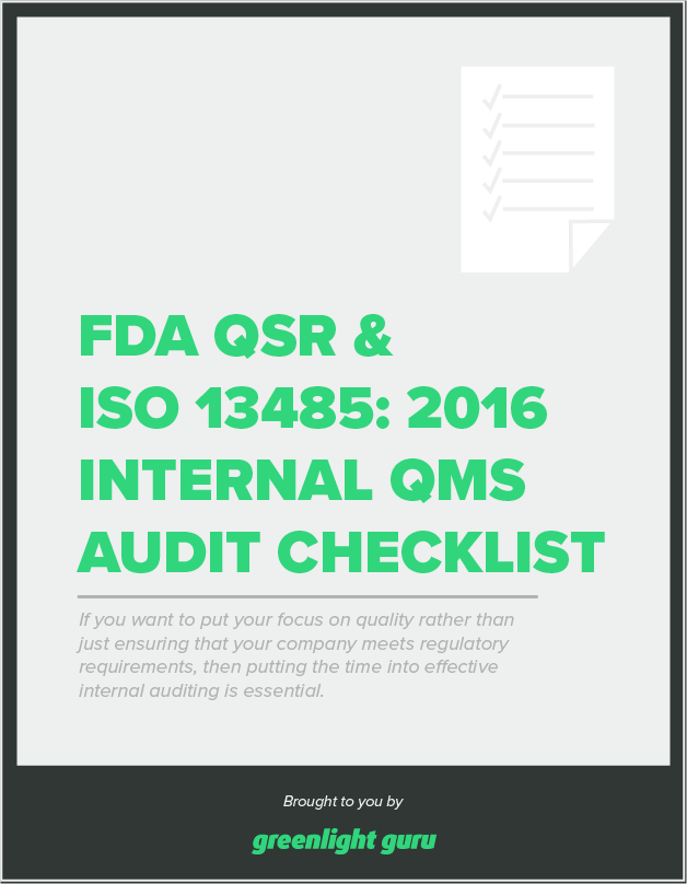 fda-qsr-iso-13485-internal-qms-audit-checklist