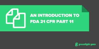 An Introduction to FDA 21 CFR Part 11 - Featured Image