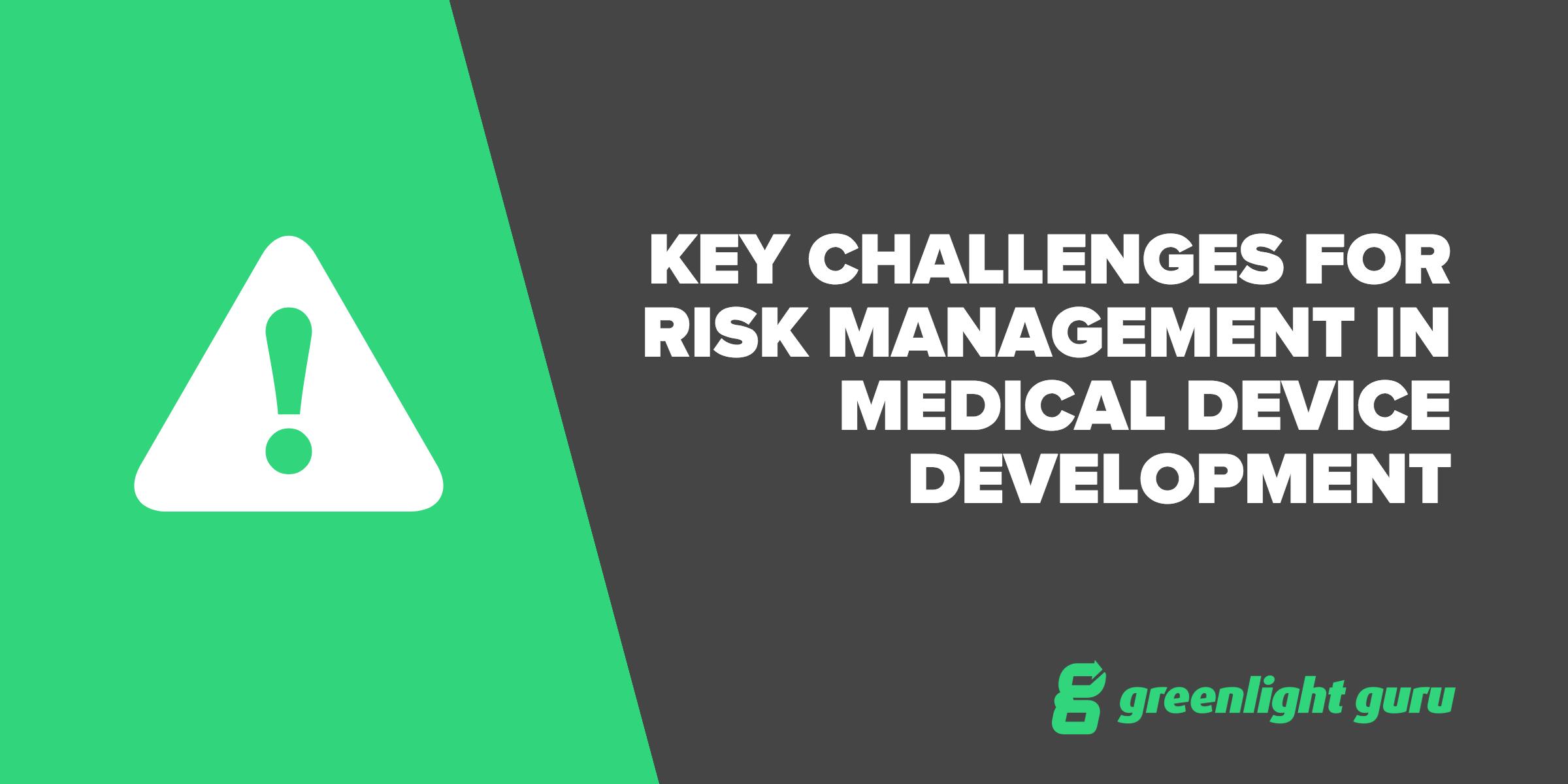 key challenges for risk