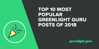 Top 10 Most Popular Greenlight Guru Posts of 2018 - Featured Image