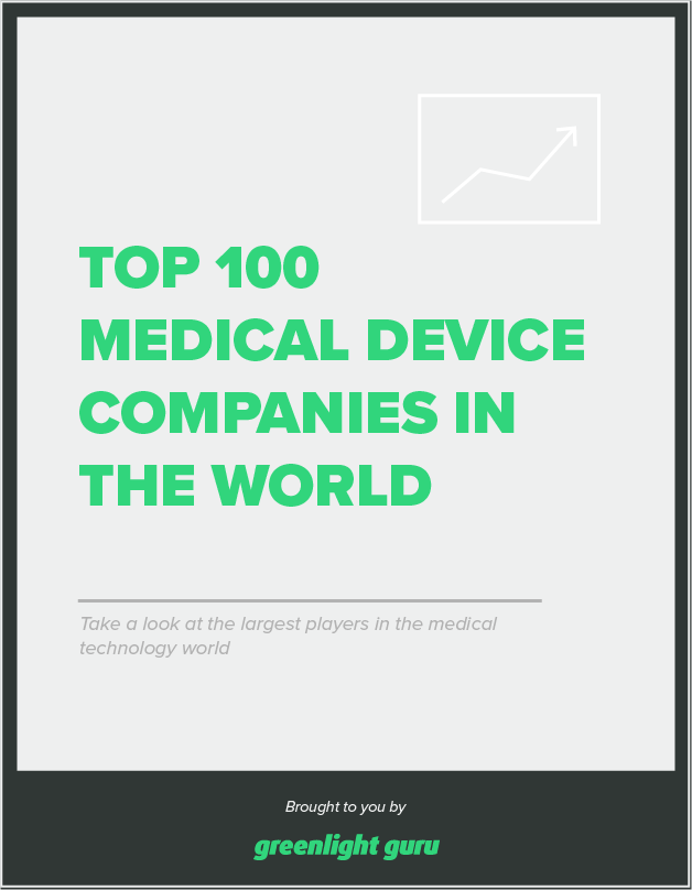 Medical Device Companies - Top 100 in 2018 (Free Chart)