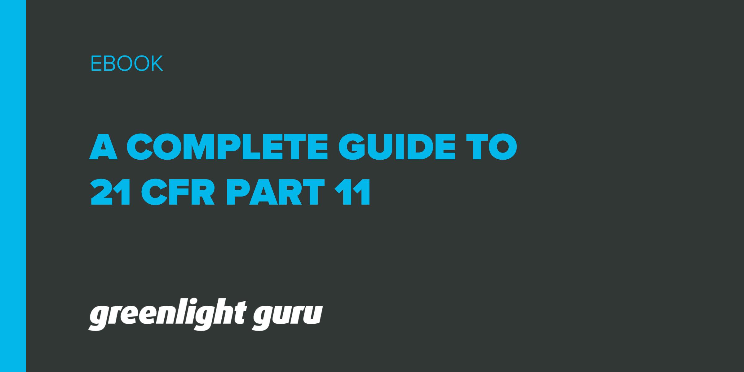 21 cfr part 11 a complete guideThe Components Of A Control Loop Control Guru #17