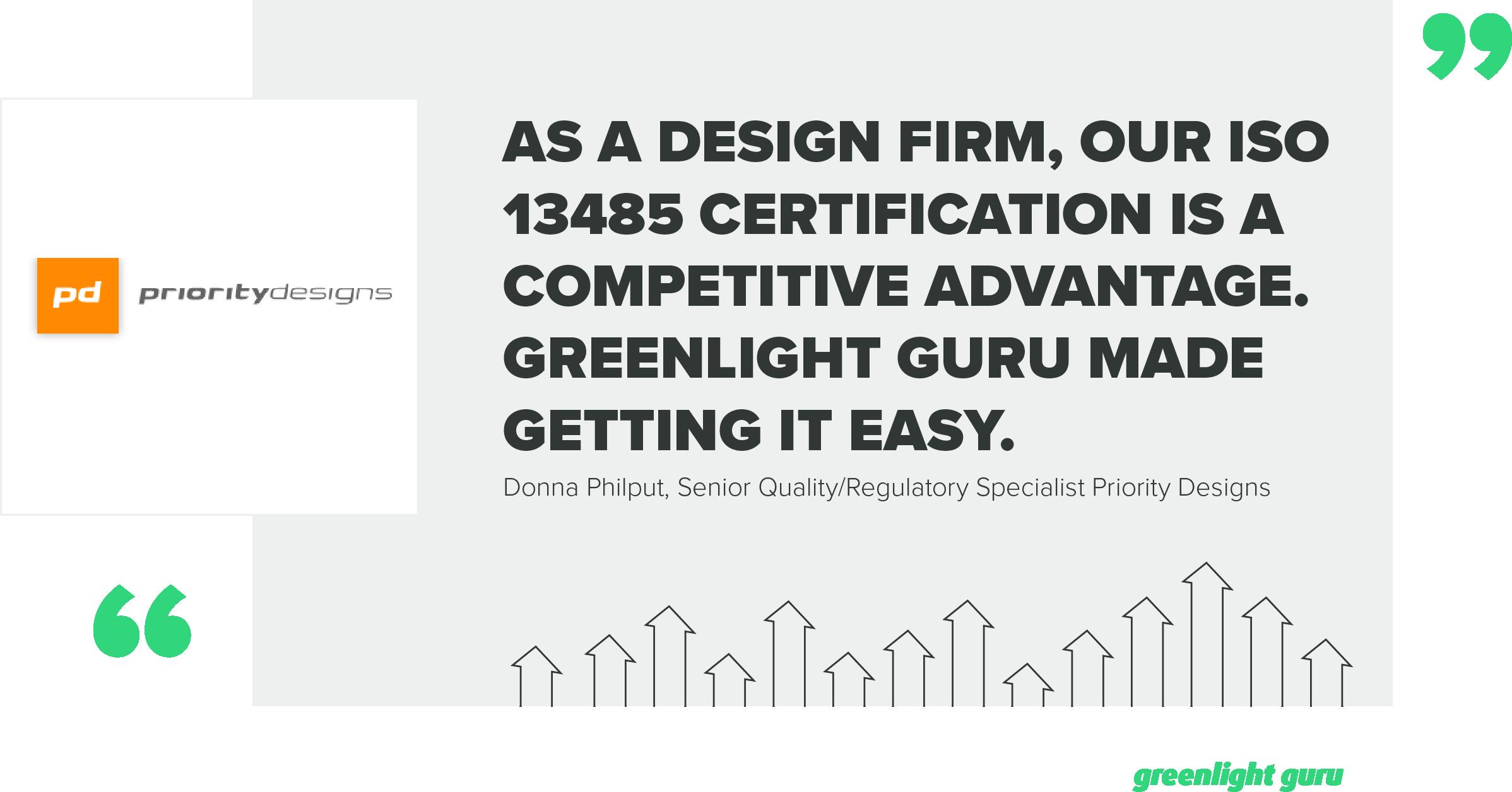 How Priority Designs Used Greenlight Guru To Gain Iso 134852016