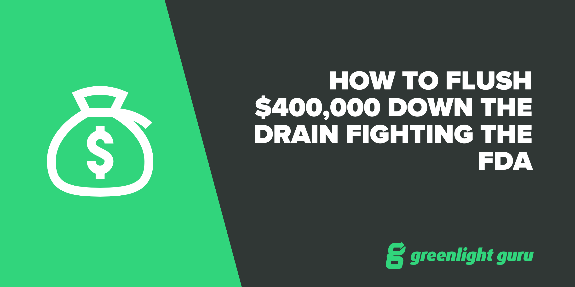 how to flush 400g fighting fda